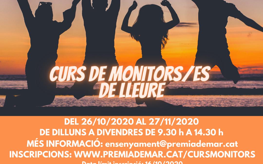 Cursos gratuïts de Monitors/es d'activitats de lleure, i de Premonitors/es