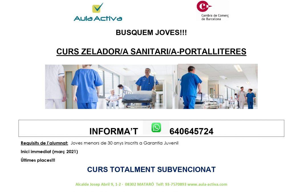 curs de zelador/a sanitari/a portalliteres