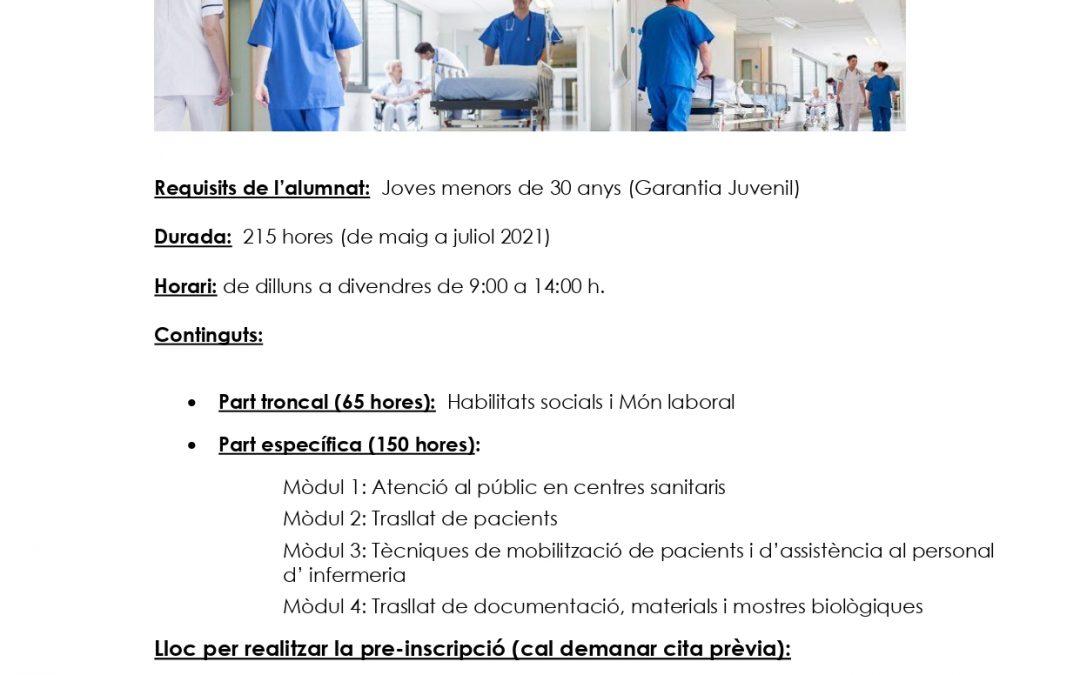 Curs zelador/a Sanitari/ària