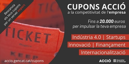 Cupons ACCIÓ a la competitivitat