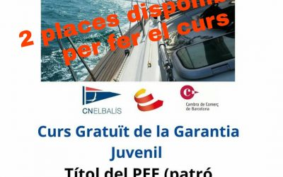 Curs gratuït de Patró d'embarcacions d'esbarjo