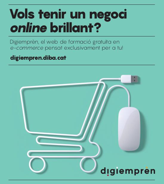 Digiemprèn: crea el teu negoci a Internet