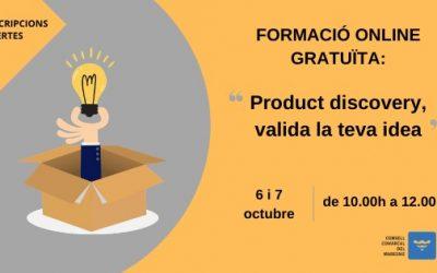 Formació online gratuïta Product Discovery