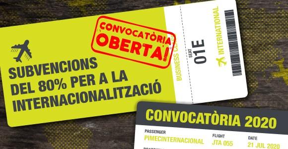 Subvencions per la internacionalització de petites i mitjanes empreses de Catalunya