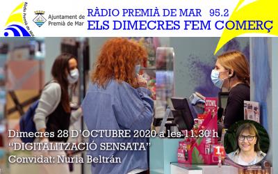 """Núria Beltran a """"Els dimecres fem comerç"""""""