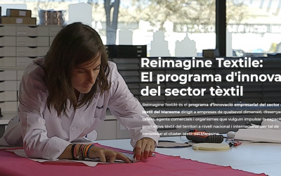 Seminaris web de Reimagine Textile